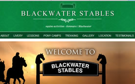 Blackater Stables - Website Design Wexford